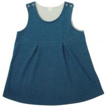 Kleid in Jeans-Farben aus Bio-Baumwolle