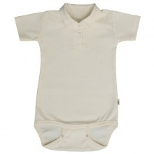 Polo Baby-Body GOTS natur