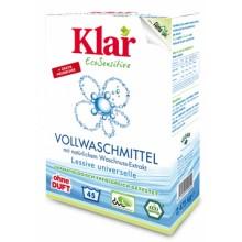 KLAR Vollwaschmittel mit Waschnuss Extrakt