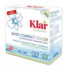 KLAR BASIS Compact Color Waschmittelpulver