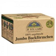 If You Care Jumbo Backförmchen ungebleicht 24 St.