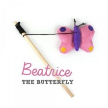 Beatrice the Butterfly (Schmetterling) - Beco Pets Katzenspielzeug