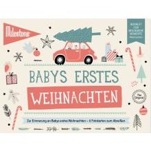 Babys Erste Weihnachten Booklet von Milestone™ – Deutsch