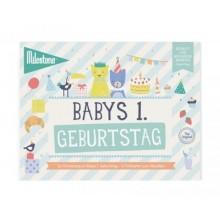 Babys Erster Geburtstag Booklet von Milestone™ – Deutsch