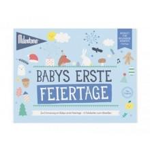 Babys Erste Feiertage Booklet von Milestone™ – Deutsch