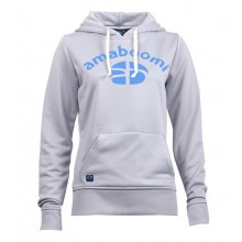 Damen Sweatshirt NAICA 100% Recycled – Perlgrau