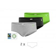 HipHopster Jazzpants, Bio-Baumwolle 2er Pack