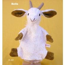 Handpuppe Ziege Bella Bio Baumwolle von Kallisto