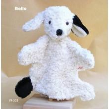 Handpuppe Hund Bello Bio Baumwolle von Kallisto