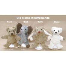 Knuffel-Bär Kurt Bio Baumwolle von Kallisto