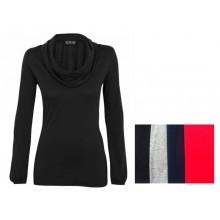 Bio Jersey Langarm Shirt – Rollkragenshirt