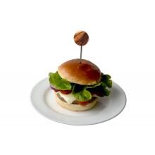 Burgerspieße aus Olivenholz & Edelstahl