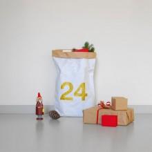 Kolor Weihnachts-Papiersack