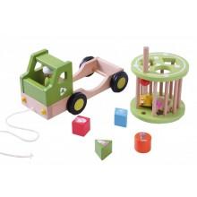 EverEarth Recycling-Truck, Sortier- und Nachziehspielzeug