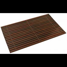 Badvorlage - Holzteppich Thermoholz