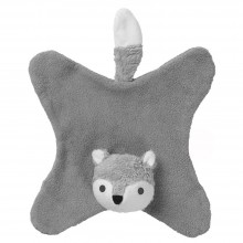 Schmusetuch Fuchs Anika – grau