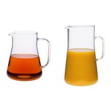 Saftkrug / Eistee-Kanne / Krug 1,0 L | 2,5 L aus Borosilikatglas
