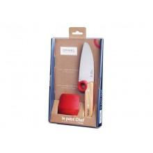 Opinel Le petit Chef – Kinder-Kochmesser – Küchenmesser für Kinder inkl. Fingerschutz