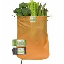 ChicoBag® VeggieBag rePETe™ – Vegane Obst- und Gemüsebeutel im 3er Pack