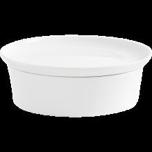 Kahla Magic Grip Kitchen Auflaufform mit Deckel, weiß Ø 21 cm