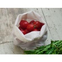 Mini Bio-Baumwoll-Beutel 18x18 cm für kleine Lebensmittel