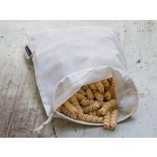 Obst- und Gemüsebeutel 20x26 cm – Naturtasche aus Bio-Baumwolle