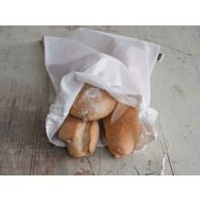 Brotbeutel aus Bio-Baumwolle – Obst- und Gemüsebeutel 32x46 cm
