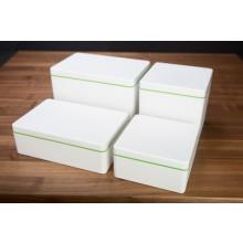Die längliche Aufbewahrungsbox – Biokunststoff 2,1