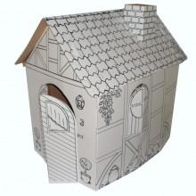 Spielhaus aus umweltfreundlicher Pappe