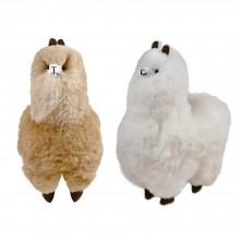 Alpaka Flocke 100% Baby Alpaka Deko Figur