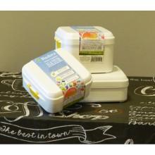 Aufbewahrungsdosen und Lunchbox aus Biokunststoff 3er Set
