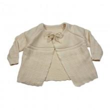 Baby Jäckchen aus Bio-Baumwolle – Strickjäckchen Größe 50/56