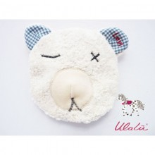 Baby Wärmekissen aus Bio-Baumwolle mit Dinkel oder Kirschkern
