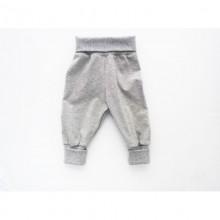 Baby Pumphose | Baby Mitwachshose Grau