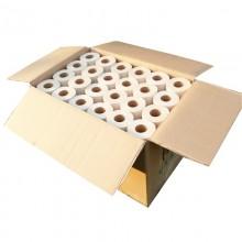 Familienpackung Veganes Bambus Toilettenpapier 96 Rollen unverpackt