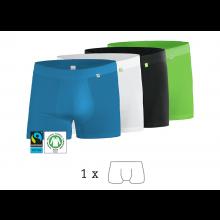 BeatBux Boxer, Bio-Baumwolle, 1er Pack, kleiderhelden