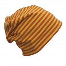 """Mütze """"Line"""" Gelb/Orange geringelt"""