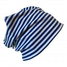 """Mütze """"Line"""" blau/weiß geringelt"""