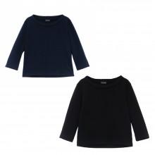 Pullover im Stil der 60er aus Bio Baumwolle