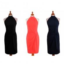 Sommerkleid mit amerikanischer Schulter aus Bio Jersey von billbillundbill