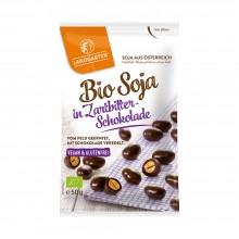 Bio Soja in Zartbitter-Schokolade von Landgarten