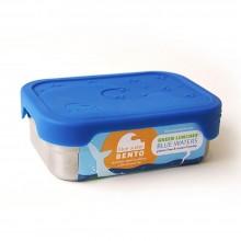 Splash Box – auslaufsichere Edelstahl Brotdose mit Silikondeckel