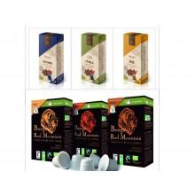 Mix Probierpaket aluminiumfreie und kompostierbare Kaffeekapsel