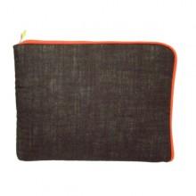 Hülle für Tablet, Netbook, Laptop & eBook-Reader Tasche – Schokolade/Terracotta