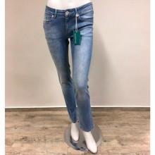 bloomers Damen Bio Jeans Hellblau – Gerade Jeanshose mit Dehnbund