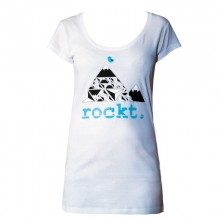 Damen T-Shirt weiss Bella Berge
