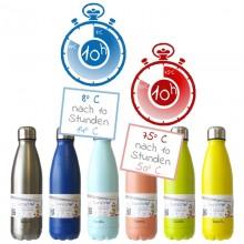 Dora's Thermosflasche aus Edelstahl – viele Farben & Größen