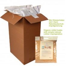 Bio Hirseschalen mit Fair Trade Kautschuk – Nachfüllpack