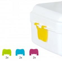 Ersatz-Verschlüsse für Biodra Lunchbox