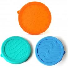 Ersatzdeckel aus Silikon für Snackbox Seal Cup Trio & Blue Water Bento Set